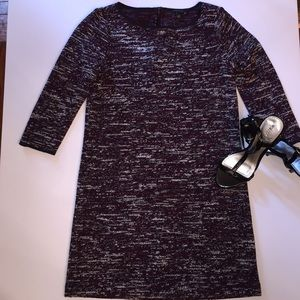 EUC tweed shift dress by Ann Taylor szXS